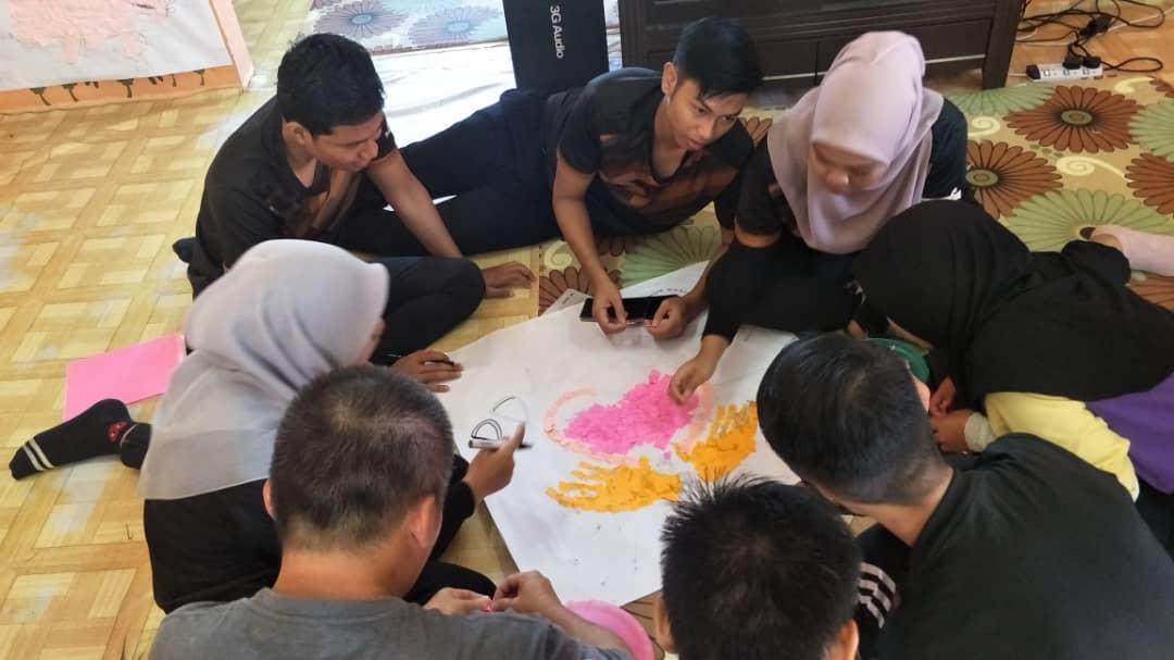 Aktiviti Pelajar Kolej Yayasan Felda Pahang di Pusat Pemulihan Dalam Komuniti (PPDK) Nur Kasih, Felda Lurah Bilut